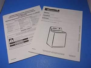 Kenmore Washing Machine Owner U0026 39 S Manual Model 110