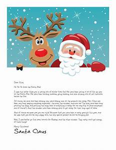146 best printable santa letters images on pinterest With customized letter from santa claus