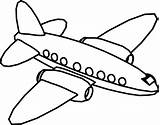Coloring Cartoon Plane Fly Sheets Wecoloringpage sketch template