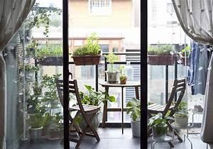 Table Pour Petit Balcon : 18 id es d 39 am nagement pour un petit balcon des id es ~ Melissatoandfro.com Idées de Décoration