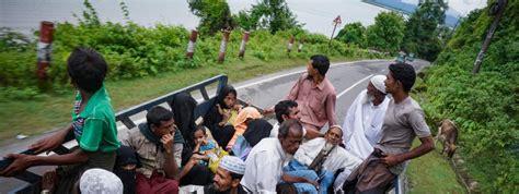 si鑒e de l onu environ 370 000 rohingyas ont fui au bangladesh depuis la fin août selon un nouveau bilan de l 39 onu
