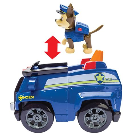 Paw Patrol Vehicle & Pup - Chase   Animal Toys & Play Sets ...