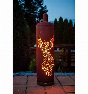 Feuerstelle Aus Gasflaschen : sehr stylische feuertonne gasflasche mit ph nix design ~ A.2002-acura-tl-radio.info Haus und Dekorationen