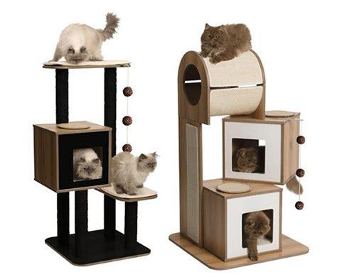 Modern Stylish Cat Furniture And Cat Stuff by Sneak Peek New Vesper Modern Cat Furniture From Hagen