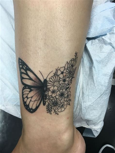 ankle tattoo ideas  pinterest small ankle