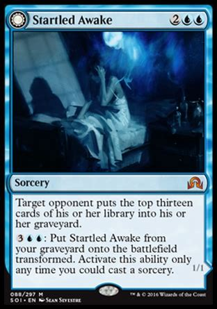 mtg startled awake or archive trap which is better for