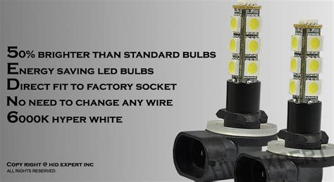 abl led 881 894 13 smd hyper white fog light only direct