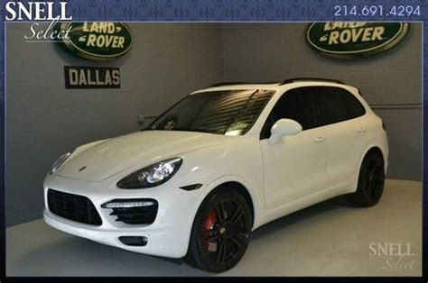 Sell Used Cayenne Turbo In Dallas, Texas, United States