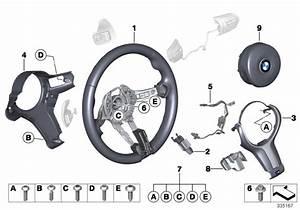 2018 Bmw M4 Decor Trim Cover  Steering Wheel  M