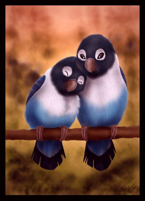 Cute Birds Love