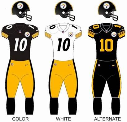 Steelers Pittsburgh Uniforms Football Pittsb Uniform Wikipedia