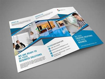 Fold Tri Brochure Template Psd Business Corporate