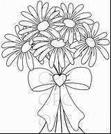 Daisy Coloring Flower Pages Gerbera Gerber Daisies Drawing Printable Print Getdrawings Getcolorings Marvelous Excellent Sweet Stamp Digital Odd sketch template