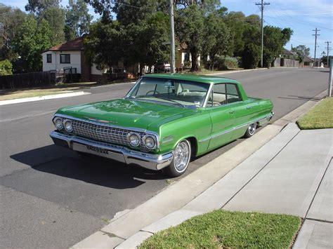 Chevrolet Australia by 1963 Chevrolet Impala 4 Door Rhd Australian Assembled