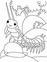 Centipede Coloring Pages Ramp Walk Insect Trying Colouring Printable Bug Drawing Bestcoloringpages Sheets Insects Books Ladybug Butterfly Flower Getdrawings sketch template