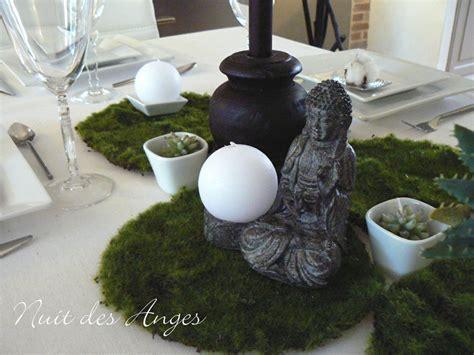 deco de table zen d 233 coration de table zen nature nuit des anges