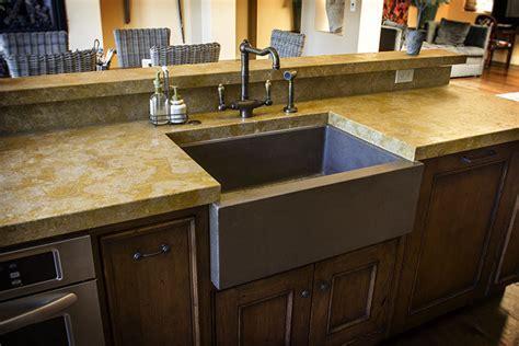 Sonoma Cast Stone Concrete Sinks   Concrete Kitchen Sinks
