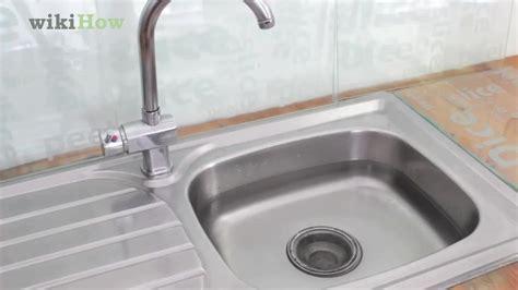 unstop kitchen sink 3 ways to unclog a kitchen sink wikihow 3070