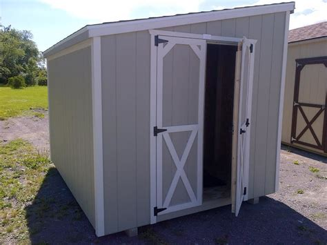 lean  prefab garden sheds north country sheds