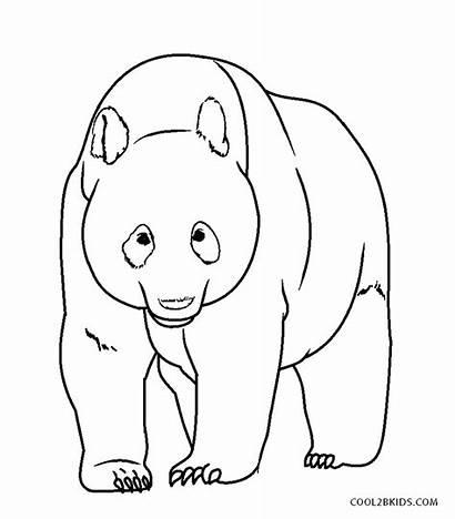 Panda Coloring Pages Printable
