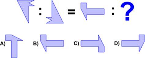Test Logica Figure by Problemi Di Attitudine Spaziale
