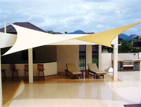 new coolaroo shade sail sq 17 9 quot patio furniture awning