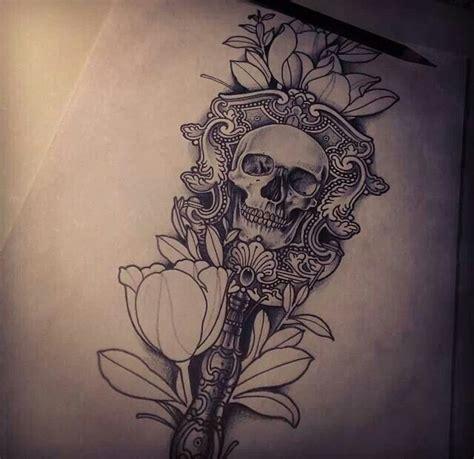 portrait tattoo artist skull flower tattoo pinterest mushroom tattoo tumblr hunting