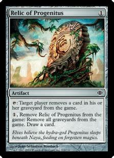 relic of progenitus the magic the gathering wiki