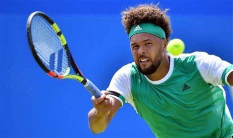 french tennis player jo wilfried tsonga    open  knee injury asian games  news