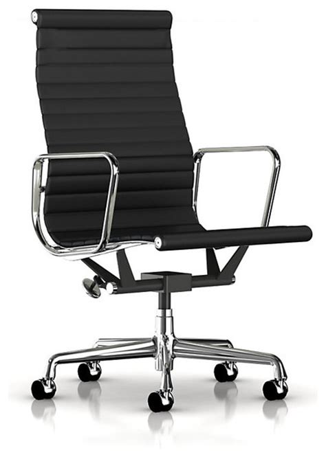 eames aluminum executive chair midcentury office chairs