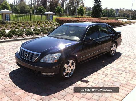 lexus sedan 2004 2004 lexus ls430 base sedan 4 door 4 3l