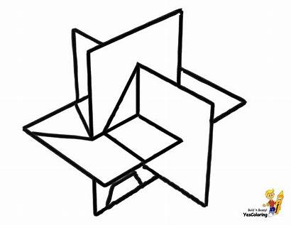 Coloring Geometric Geometry Printable Printables Grand Shapes