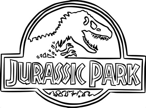 Kleurplaat Spinosaurus by Jurassic Park Coloring Pages Coloringbay