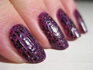 Purple and black acrylic nail designs memes