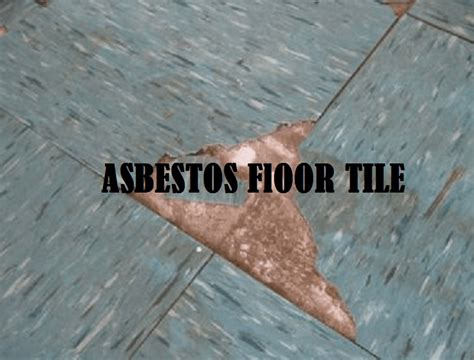 asbestos floor tiles removal process
