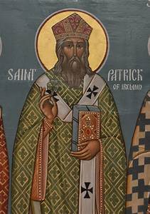 File:Icon of Saint Patrick, Christ the Saviour Church.jpg ...