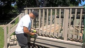 Using Screws Instead Of Nails For A Deck