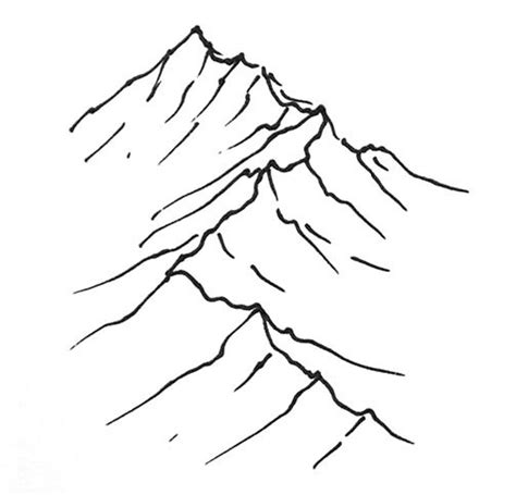 Simple Mountain Drawings Photo by Mountain Tutorial Fantastic Maps
