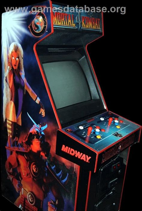 Mortal Kombat Arcade Cabinet by Mortal Kombat 4 Arcade Database