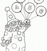 Circus Coloring Pages Ringmaster Clown Printable Getcolorings sketch template