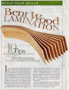 Bent Wood Lamination • WoodArchivist