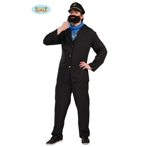 veste de cuisine homme pas cher capitaine barbu déguisement