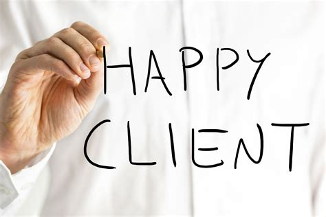 Happy Clients Are Loyal Clients