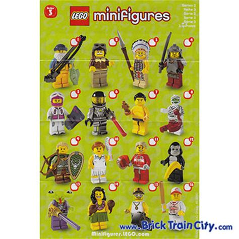 8803 lego minifigures series 3 reviews complete set of 16