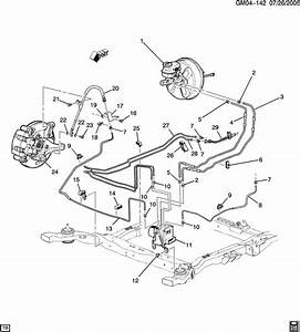 Buick Lucerne Hose  Hydraulic Brake  Hose  Frt Brk Acdelco  176-1478  - Lh