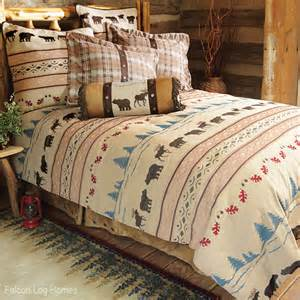 country bedding moose and bear bedding set cabin bedding