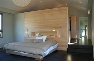Tete De Lit Chevet : t te de lit avec rangement fonctionnelle et pratique ~ Teatrodelosmanantiales.com Idées de Décoration