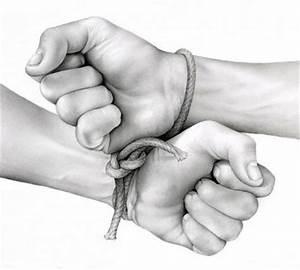Significado de Mãos Atadas - O que são, Conceito e Definição