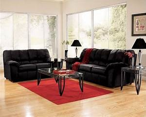 red and black living room furniture With red and black furniture for living room