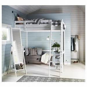 Ikea Stora Hochbett : stor loft bed frame black for home get furnitures for home ~ Orissabook.com Haus und Dekorationen